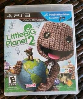 Little Big Planet 2 Ps3 Juego Fisico Como Nuevo Playstation3