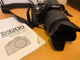 Camara Profesional NIKON 3200