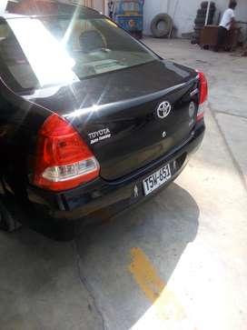 Vendo Toyota Etios Gasolina y GLP