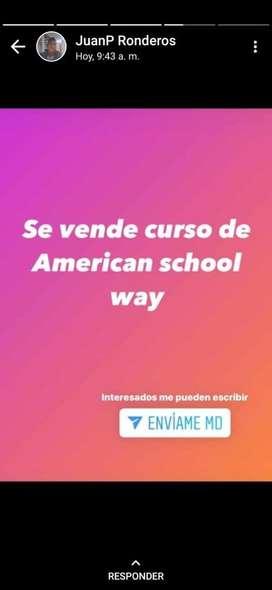 Curso de ingles, American school way