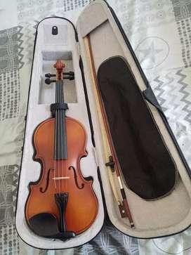 Violin 4/4 con soporte para el hombro