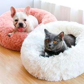 Cama Tipo Puff Para Gatos Y Perros