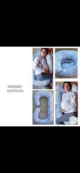 Almohadón multifunción para embarazada