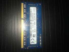 Memoria RAM Portátil 2 GB DDR3 1600 MHz