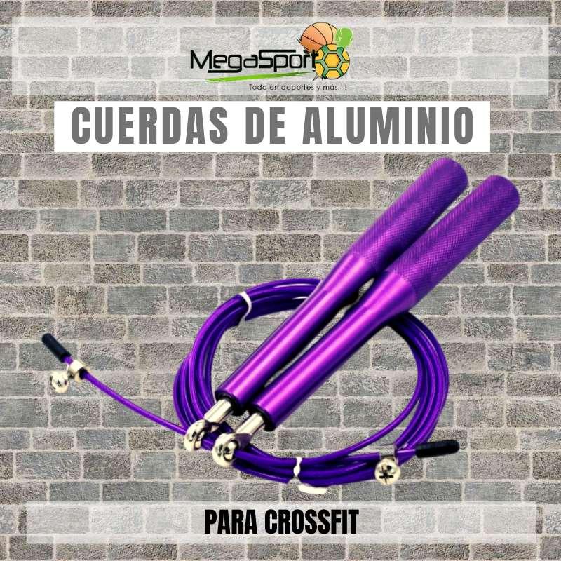 Cuerda para Salto Profesional - Crossfit y Boxeo - 100% Aluminio