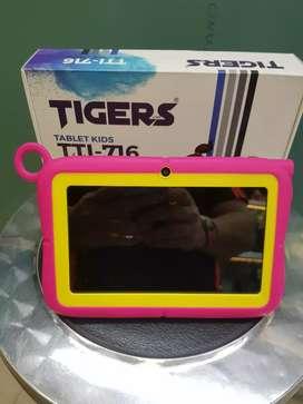 Tablet tigers de 7 pulgadas para niños