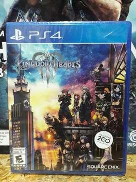 Kingdom Hearts 3 Nuevos Sellados Promoción
