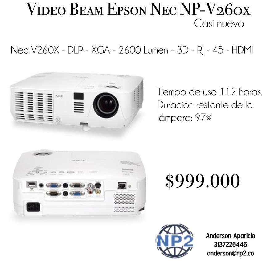 Video Beam Epson Nec NP-V260x