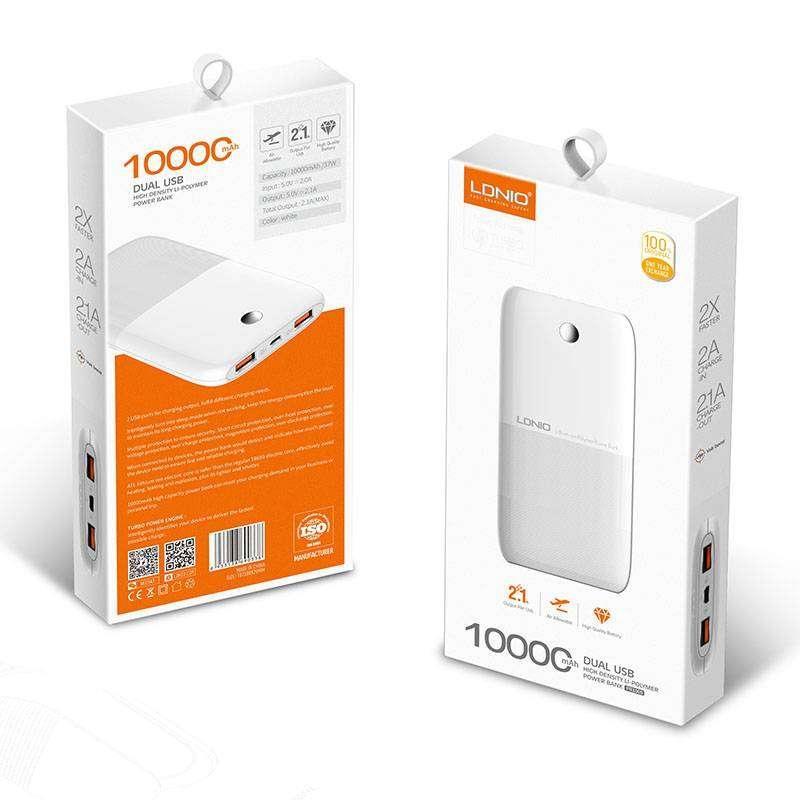 Power Bank Ldnio Pr1009 Original / 10000 Mah