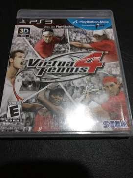virtual tennis 4 ps3 play station 3