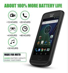 Power Bank Case Funda Bateria Moto G 5 Plus Cargador