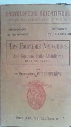 Antiguo Libro Las Funciones Nerviosas