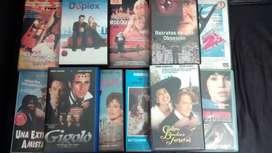 PELICULAS LOTE VHS