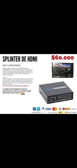 Splinder de HDMI