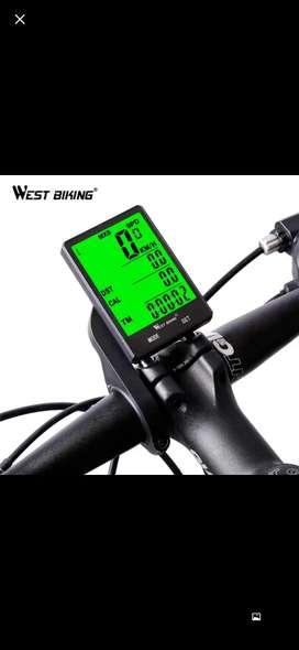 Odometro Bicicleta West Biking 2,8 Pulgadas Led