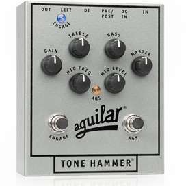 Pedal Aguilar Tone Hammer Direct Box 25Th Bajo eléctrico Music Box