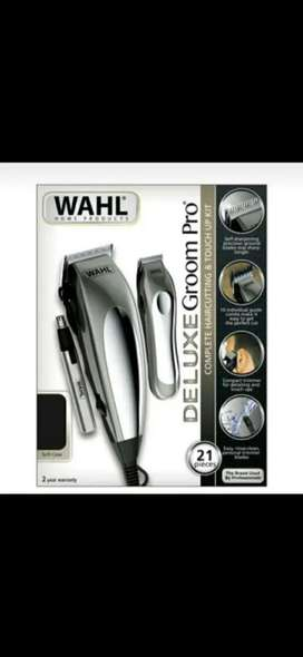 Maquina  peluquera marca WAHL en combo NUEVA