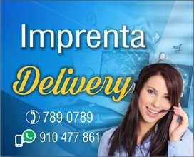 Imprenta  Delivery - Neoart en Lima - envio a todo el Peru