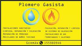 Gasista y PLOMERO