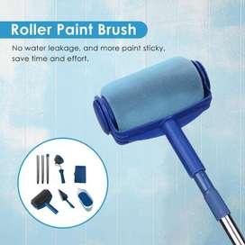 Rodillo de corredor de pintura multifunción, Kit profesional de cepillo de esquina