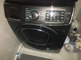 Lavadora +secadora samsung alta capacidad