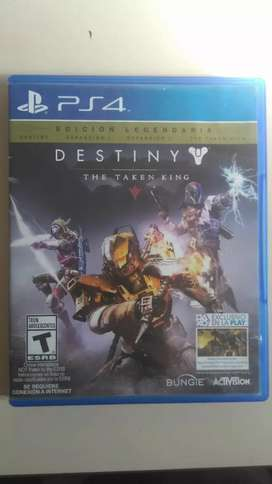 Destiny the taken king juego play 4