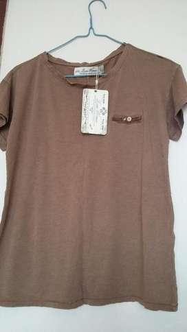 Camiseta de Mujer Marca Zara