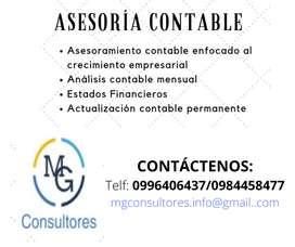 Servicio Contable, Asesoría Tributaria Y Manejo De Nomina
