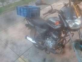 Domiciliario con moto
