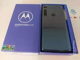 Motorola One Macro 4/64gb libre a estrenar nuevo