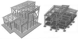 Cálculo de Estructuras Hormigón Armado y Metálica Planos
