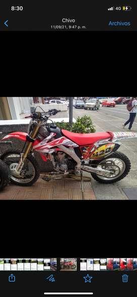 Vendo Moto Honda CRF 250X