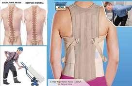 Corrector Postura Faja dorso Lumbar Sacro Ortopedica Cervical