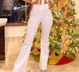 Pantalon blanco talla Xs