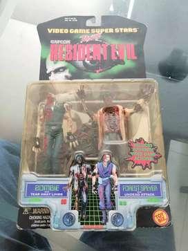 Muñecos de resident evil 1, del año 1998.