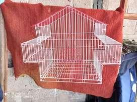 Jaula para aves tipo balcon