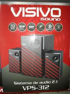 Equipo de Sonido 70 Watts visivo