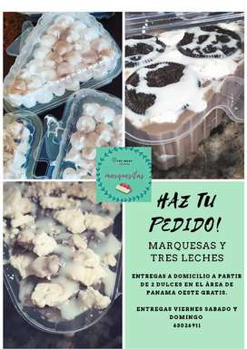 MARQUESAS Y TRES LECHES