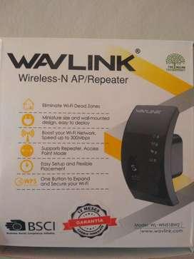 Extensor de Señal de Wifi sin Uso