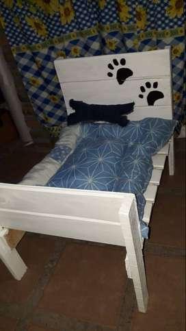 Cama y colchon para perro-gato