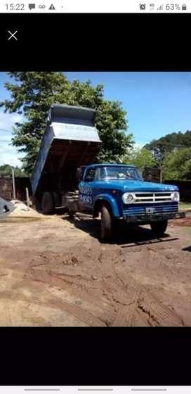 Camión dodge volcador freno aire bloqueo vtv trabajando