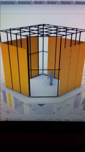 Proyectos Arquitectonicos 3D, de diseño industrial