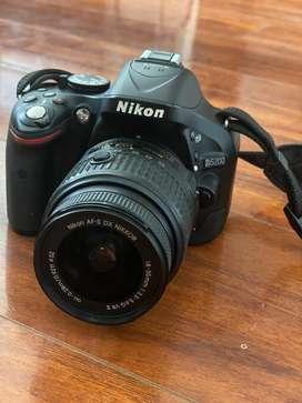 Camara nikkon con lente extra