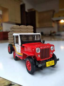 Jeep Willys metálico
