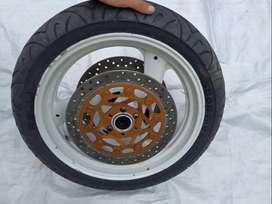 Rin # 17 Doble disco sellomatic -para moto gsxr 600 -750 * r6 * zx6r * CBR 600* Suzuki Kawasaki Yamaha Honda.   Con llan
