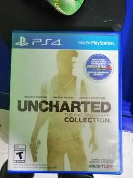 Juego Uncharted collection