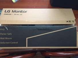 Monitor LG Full HD 21.5 Pulgadas