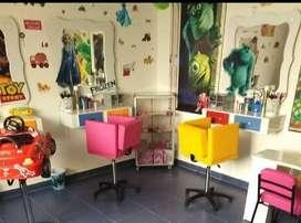 Muebles de peluquería infantil