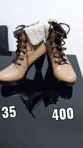 Botas mujer número 35 / 36