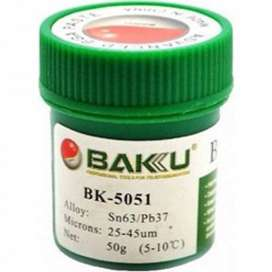 Soldadura en Pasta 50 gr Baku BK 5051